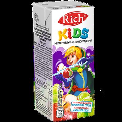 Сік Rich Kids 0,2 л