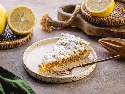 Пиріг лимонний