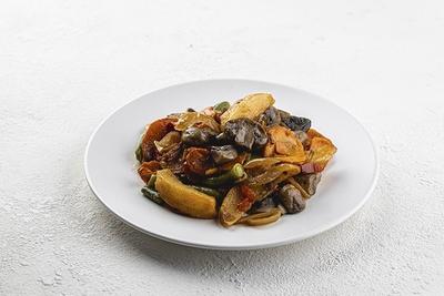 Рагу овочеве з грибами