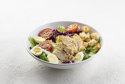 Салат-фреш з куркою гриль