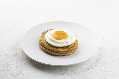 Шніцель з яйцем