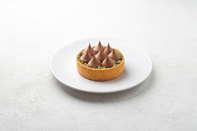 Тарт шоколадний з вишнею